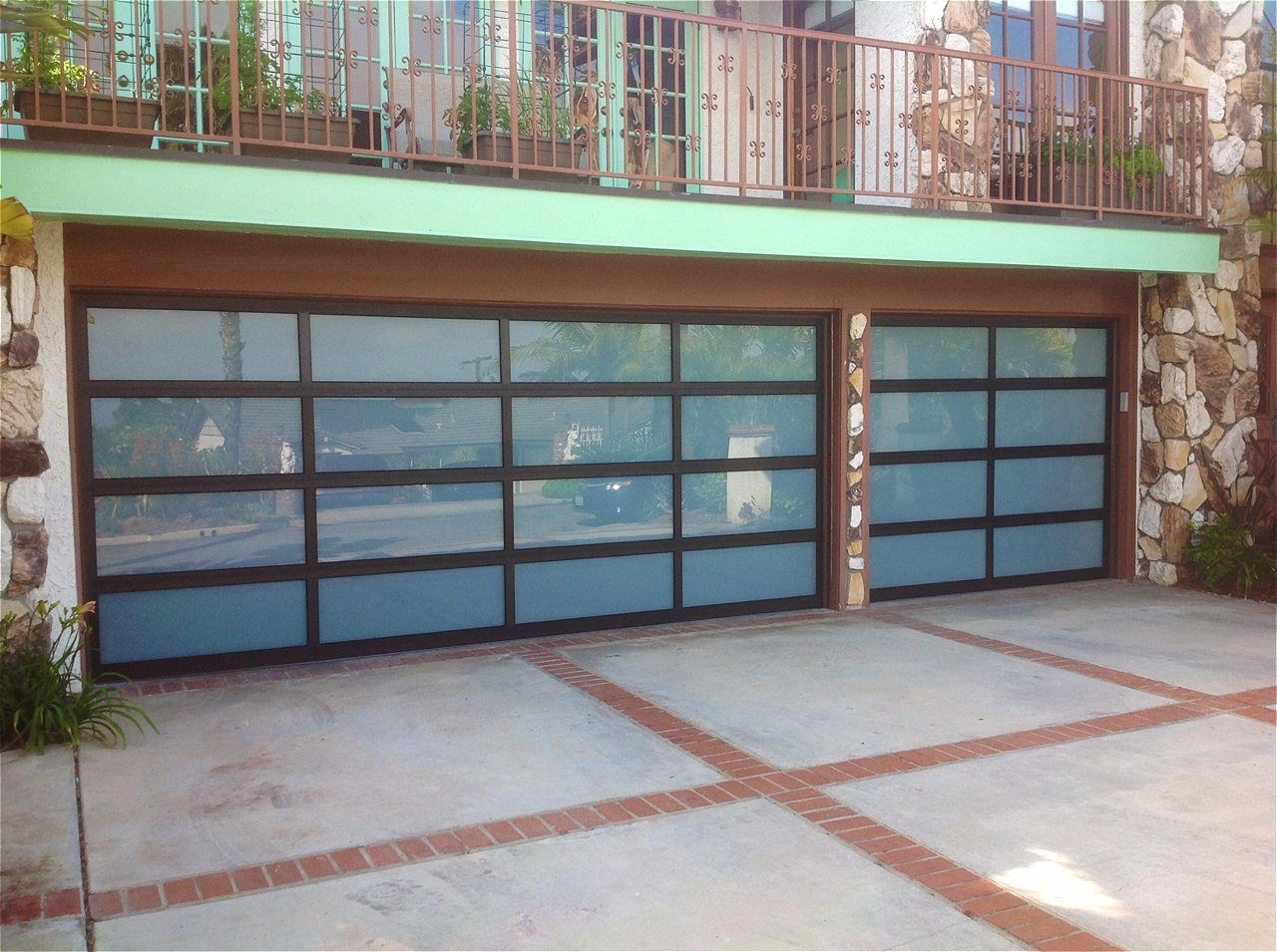 On Trac Garage Doors Sylmar Intended For Residence