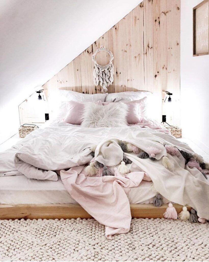 20 beruhigende asiatische Schlafzimmer Designs Sie