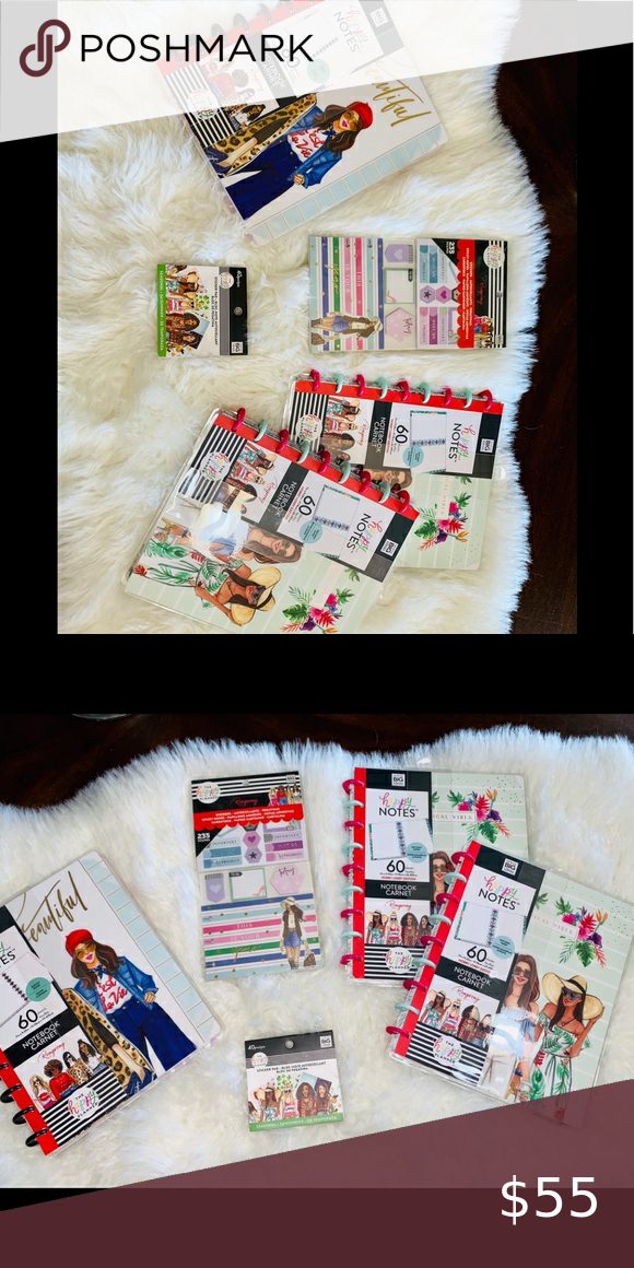 The happy Planner x RONGRONG Bundle The happy Plan