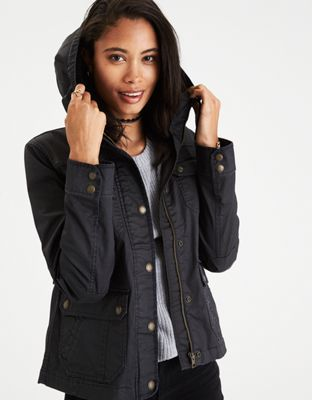 AEO Waxed Cotton Utility Jacket by American Eagle