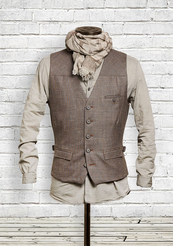 DORNSCHILD designer men's vests for the modern man!