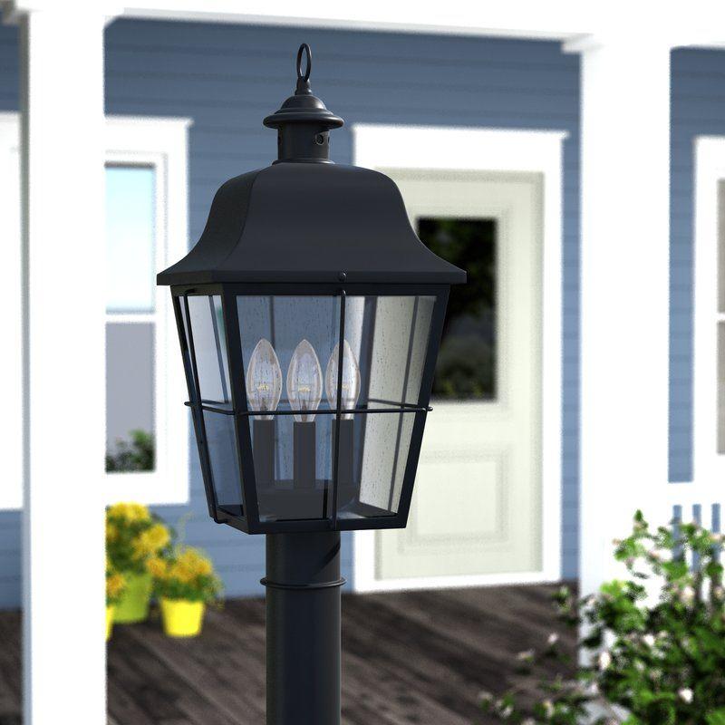 Danielson Outdoor 3 Light Lantern Head Modern Lanterns Lanterns Metal Lanterns