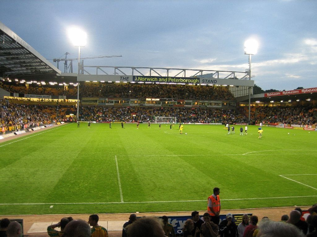 #carrowroad #stadium #norwich #city