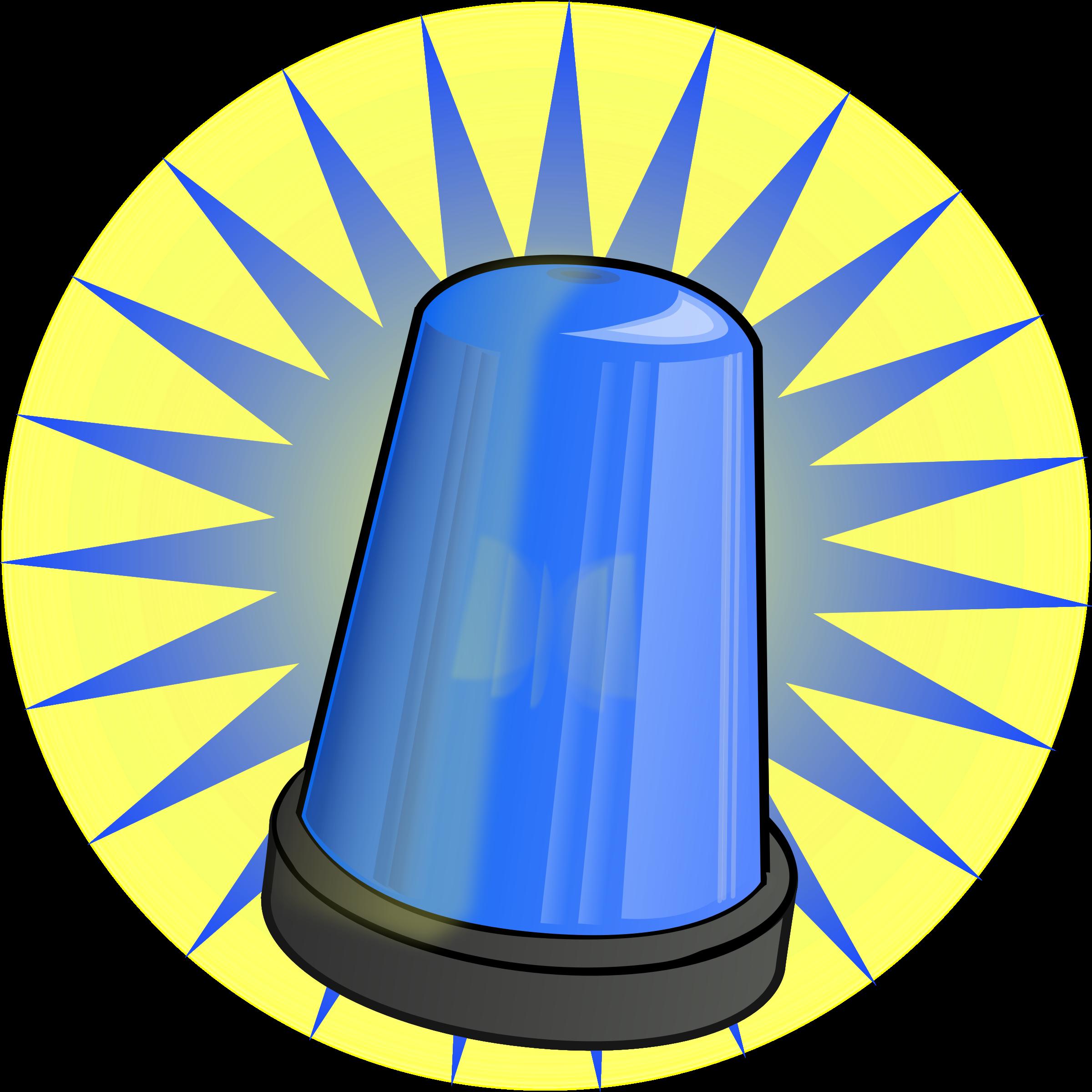 Blue Signal Light Clip Art Free Clip Art Ambulance Light