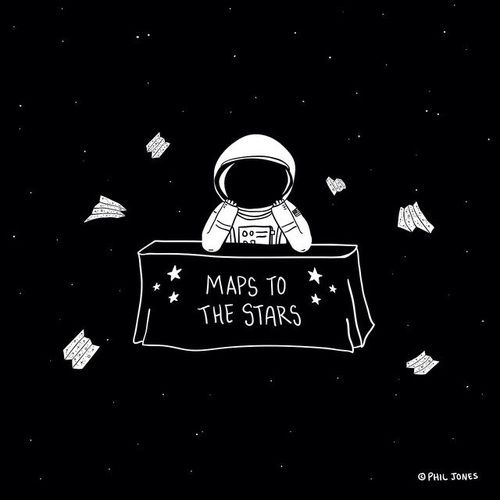 Pingl par littleparadise sur pinterest astronauta espacio et espacio - Dessin d astronaute ...