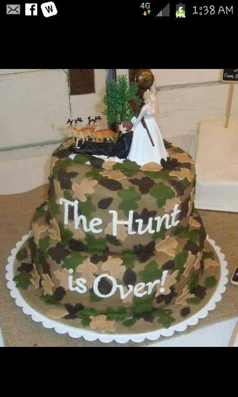 Love this redneck wedding cake wedding cakes Pinterest Redneck