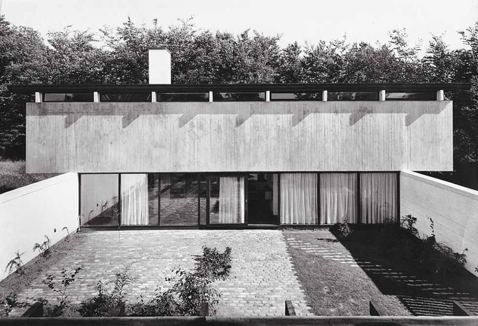 Friis & Moltke | Knud Friis house , Brabrand , Dinamarca, 1958