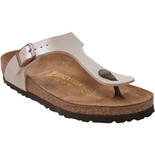 Birkenstock Women's Gizeh Birko Flor T Strap Sandal ($95
