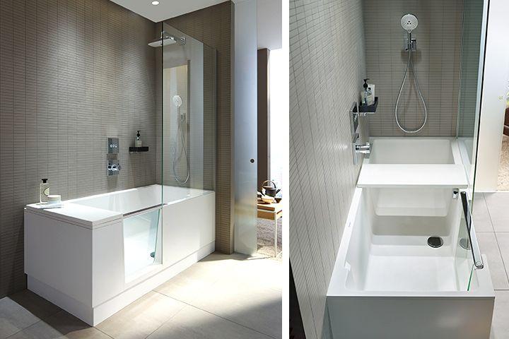 Vasche Da Bagno Incasso Duravit : Doccia e vasca in uno duravit presenta shower bath vasche da