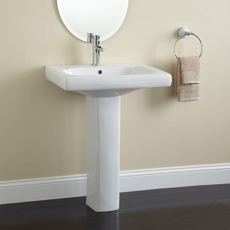 Melus Pedestal Sink Pedestal Sinks Pedestal Sink Bathroom