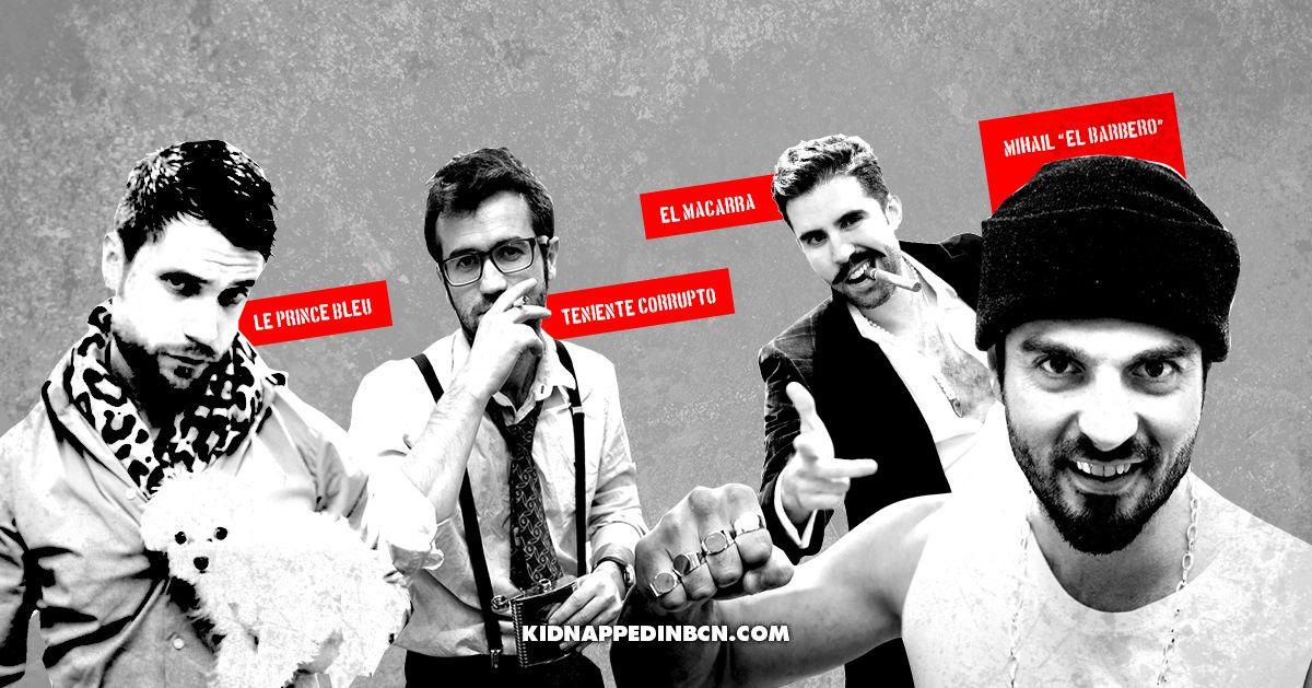 Esta Primavera Llegan Nuevos Turistas A Barcelona Http Kidnappedinbcn Com Ocio Misterio Masqueunescaperoom S Ficcion Teniente Barberos