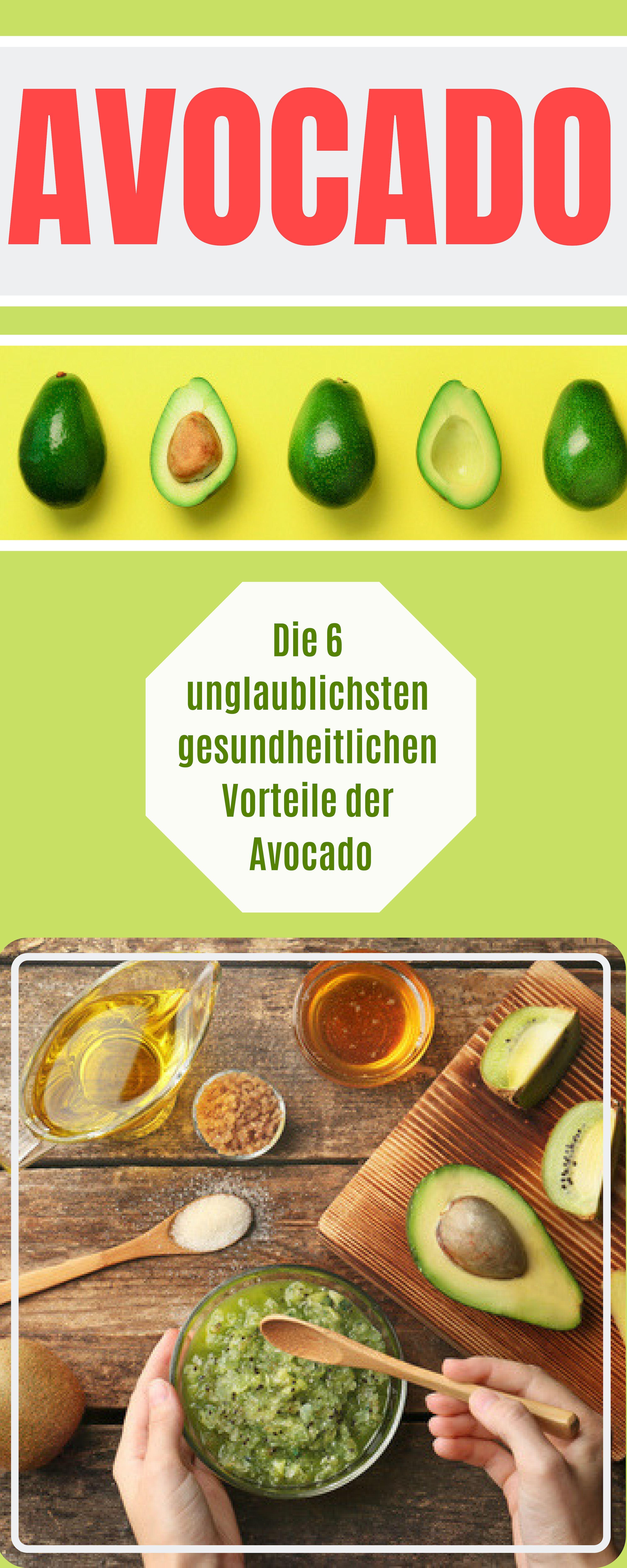 Avocado für Diäten