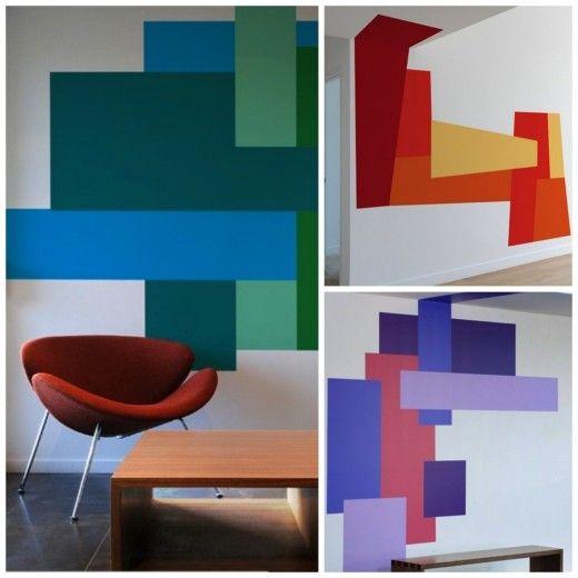 Color Blocking via simply grove | For My Home | Pinterest ...