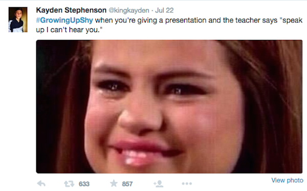 GrowingUpShy Is One Of The Most Hilarious Twitter Trend