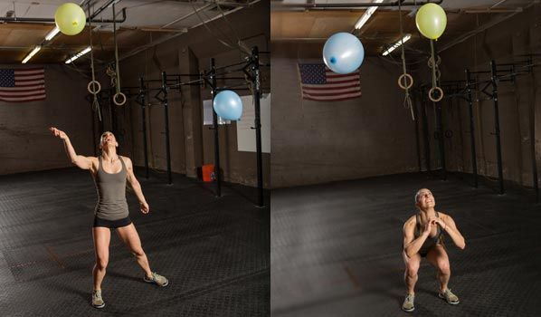 6 Exercise to Improve Agility: Balloon Drill @acefitness