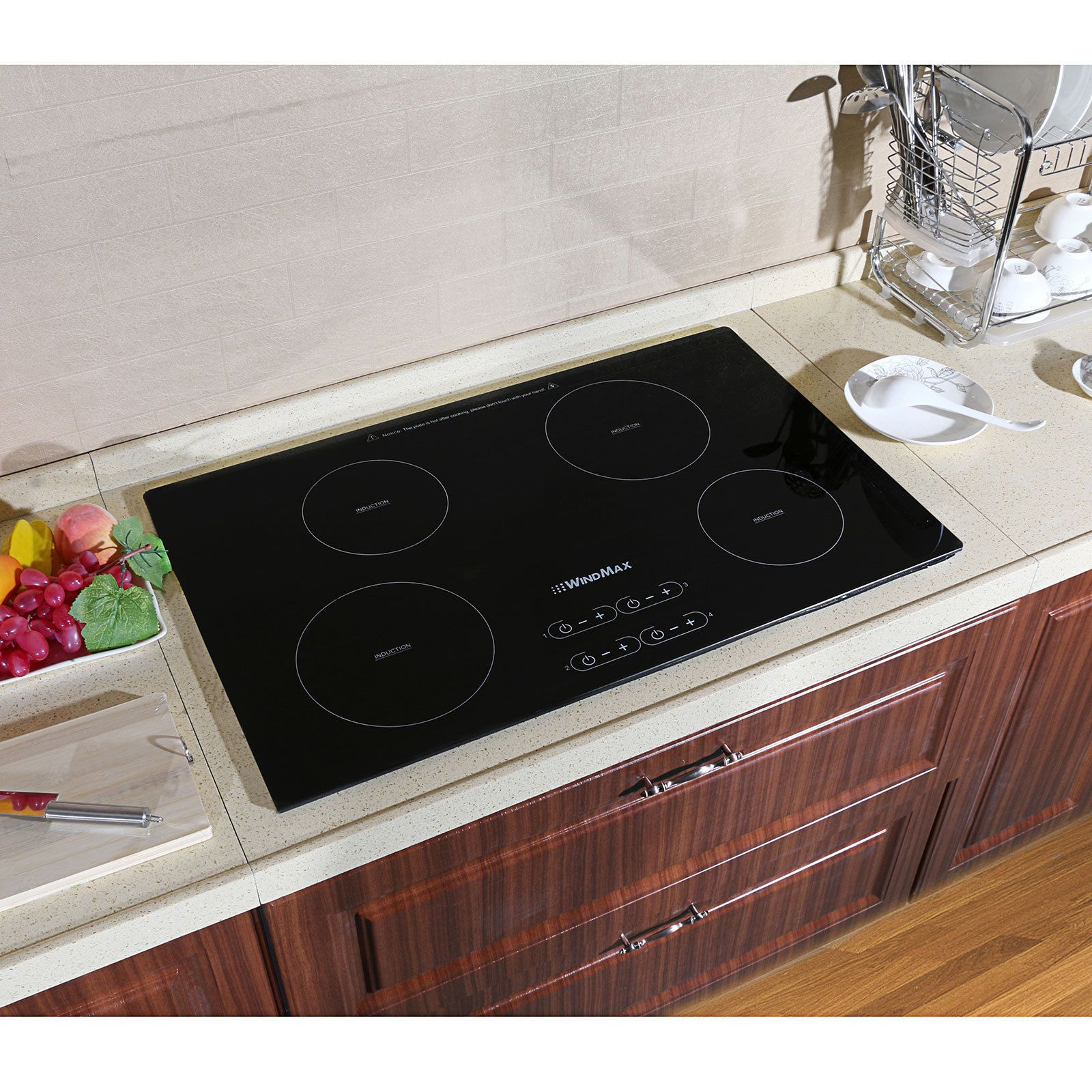 Windmax 31 5 Inch 240v Induction Hob 4 Burner A Grade Glass Plate