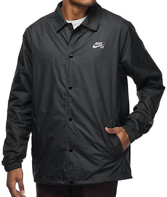 ma non volgare abile design primo sguardo Nike SB Shield Black Coaches Jacket | Ropa