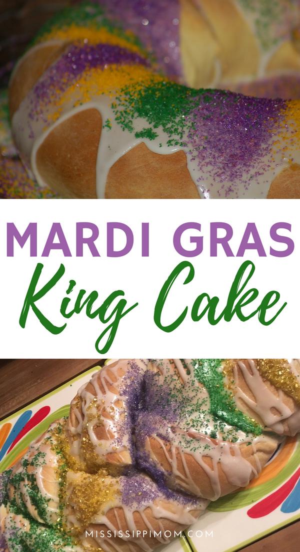 How To Make Mardi Gras King Cake Mardi Gras King Cake King Cake