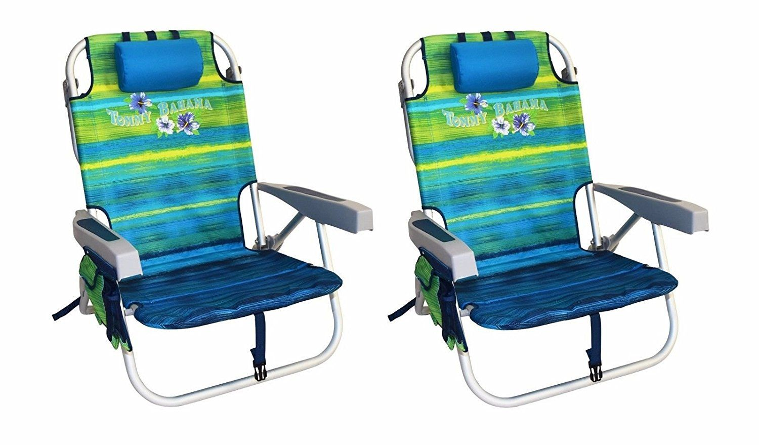 2 Tommy Bahama Backpack Cooler Beach Chairs Green New This Is An Affiliate Link Click Image To Review More Details
