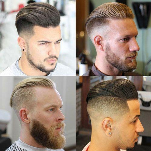 Herauszufinden Wie Die Slick Zurück Ihr Haar Präsentieren Eine
