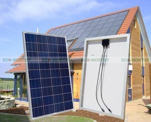 800w Solar Panel Kit 8 100w Solar Panel W 3kw Inverter 12v Battery Off Gridsystem Solar Panels Best Solar Panels Solar