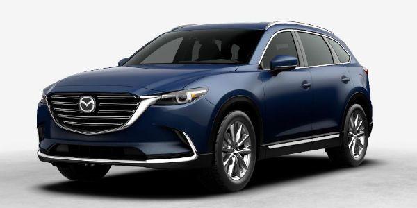 2017 Mazda Cx 9 In Deep Crystal Blue Mica Mazda Cx 9 Mazda Mazda Cars