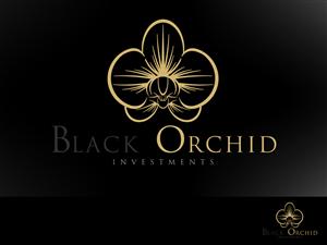 Black Orchid Upmarket Elegant Logo Design By Stierney Elegant