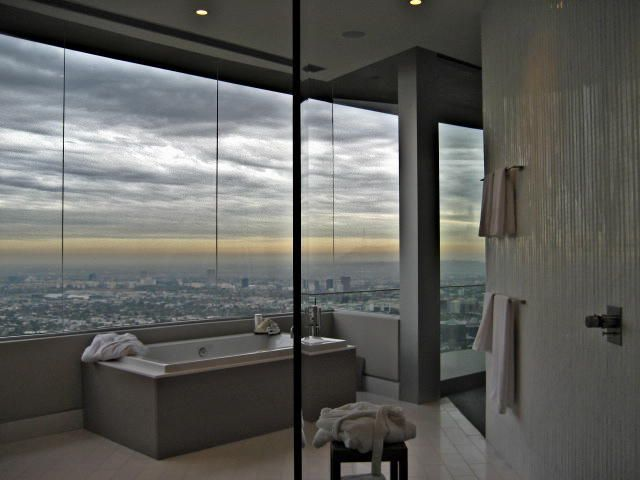 Contemporary Modern Bathroom Design Photo by Csimplicity Design Album - Bathroom, Hollywood Hills | Bathroom....yep-I could relax here...