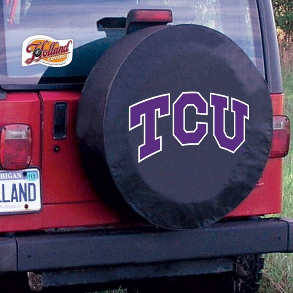 Tire Cover Tcu Horned Frogs With Images Tire Cover Cover Northern Michigan University