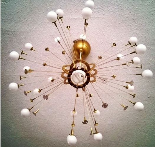 Easy Affordable Fun Diy Sputnik Lamp Ikea Hack Fun