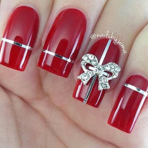 Diy christmas nail art 50 christmas nail designs you can do diy christmas nail art 50 christmas nail designs you can do yourself diy christmas nail salons and pedicure ideas solutioingenieria Image collections