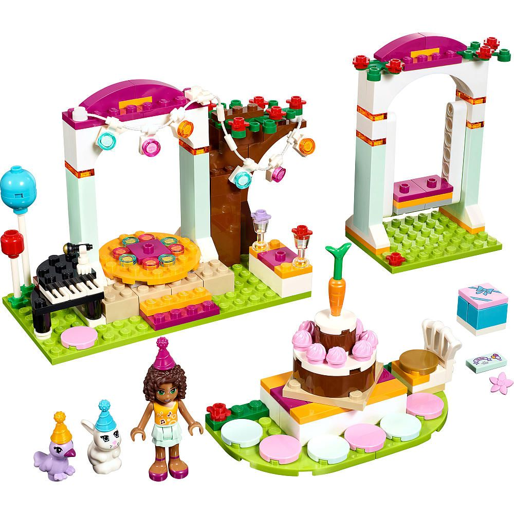 Andrea Has Sent Invitations To All Her Friends Pets For The Birthday Of Her Rabbit Daisy Hel Lego Friends Birthday Lego Friends Birthday Party Kids Gift Sets
