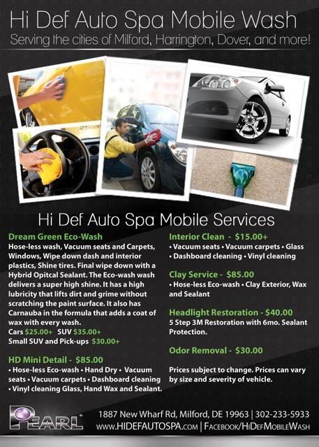 Pearl Car Care Milford Hi Def Mobile Wash Https Lnkd In