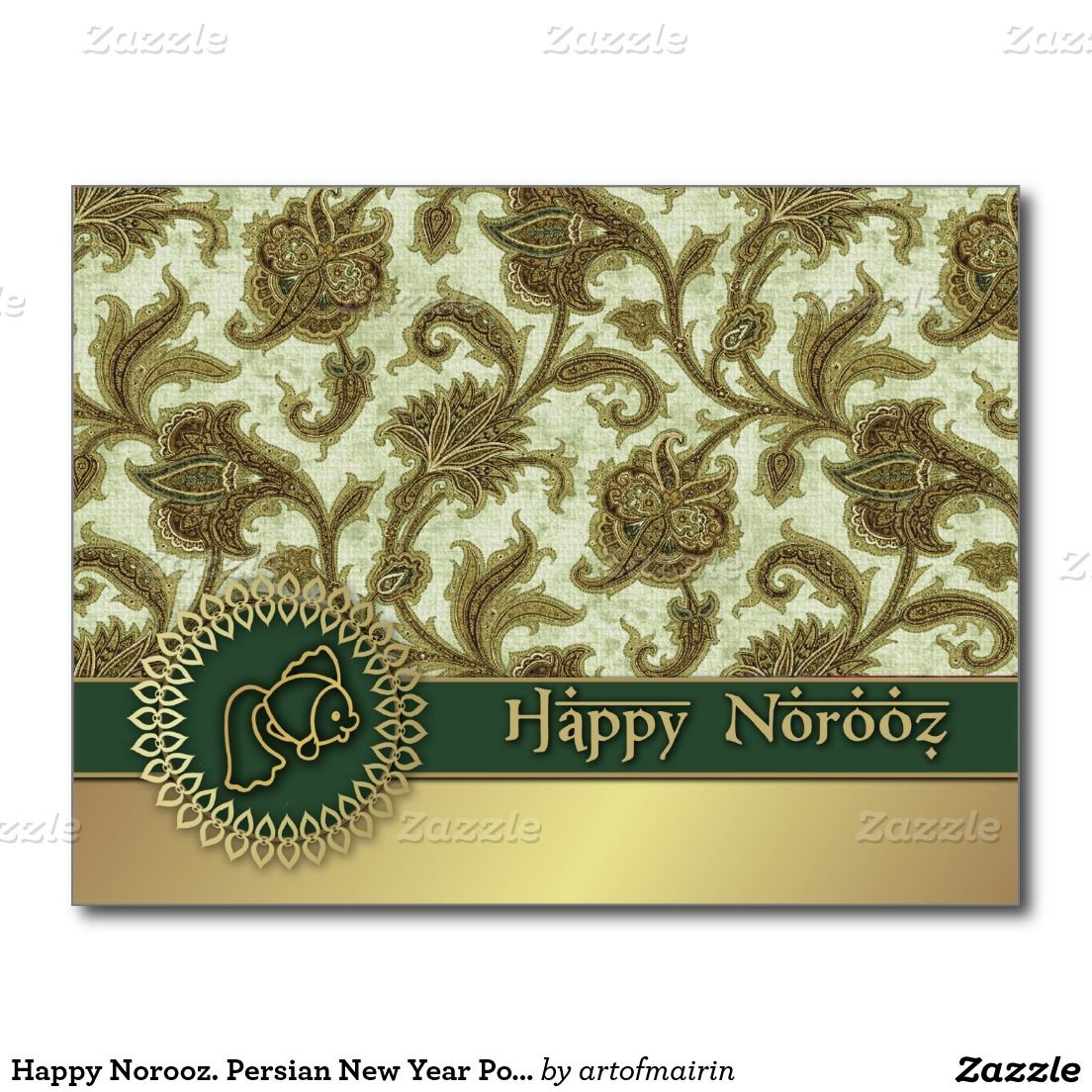 Happy Norooz Persian New Year Postcards