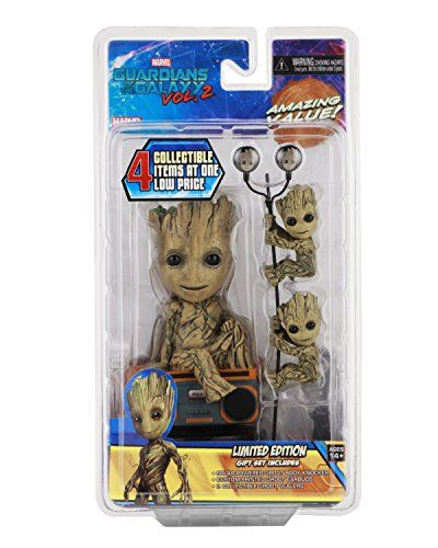 Neca Guardians Of The Galaxy 2 Limited Edition Kid Groot Https Www Amazon Com Dp B06x9whzdc Ref Cm Sw Guardians Of The Galaxy Groot Limited Edition Gift