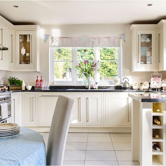 Country Style Cream Kitchen Home