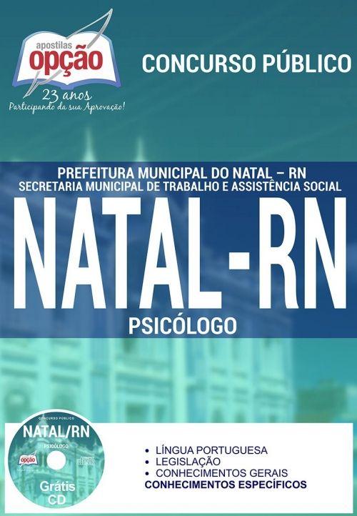 Prefeitura de Natal / RN PSICÓLOGO ORIENTADOR SOCIAL CUIDADOR ASSISTENTE SOCIAL ASSISTENTE ADMINISTRATIVO               ...