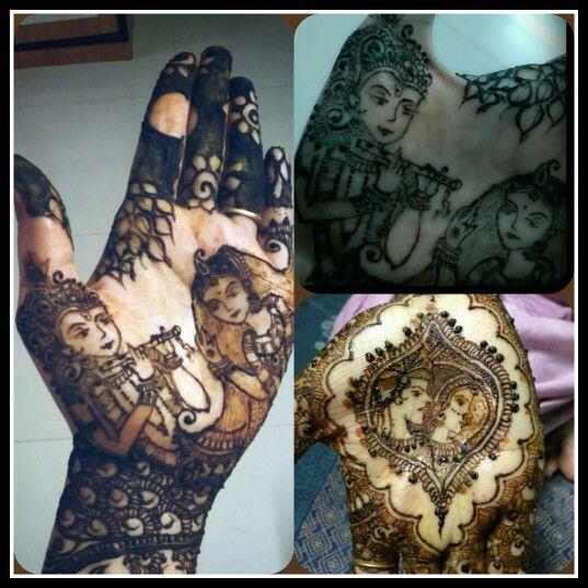 tatoo #Mehendhi #india #radha #krishna   Tattoo   Mehndi