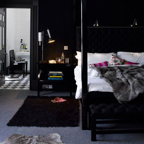 Black Bedroom Interior Designs U2013 Dramatic Yet Elegant Amazing Pictures
