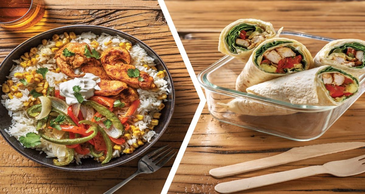 Mexican Chicken Tenders and Chicken Fajita Wraps Recipe | HelloFresh #recipeforchickenfajitas