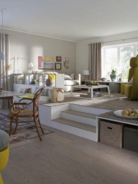 Bauanleitung podest mit schubkasten wohnen pinterest room house und living room - Podest wohnzimmer ...