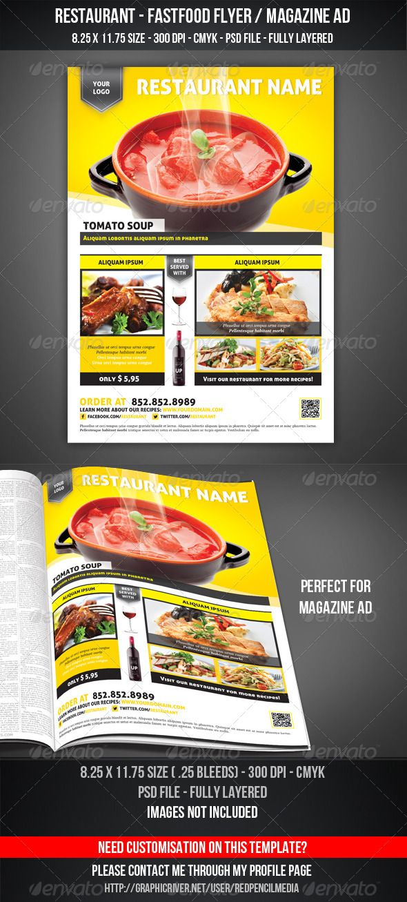 Advertising Magazine Template In Word Ad Templates For Powerpoint