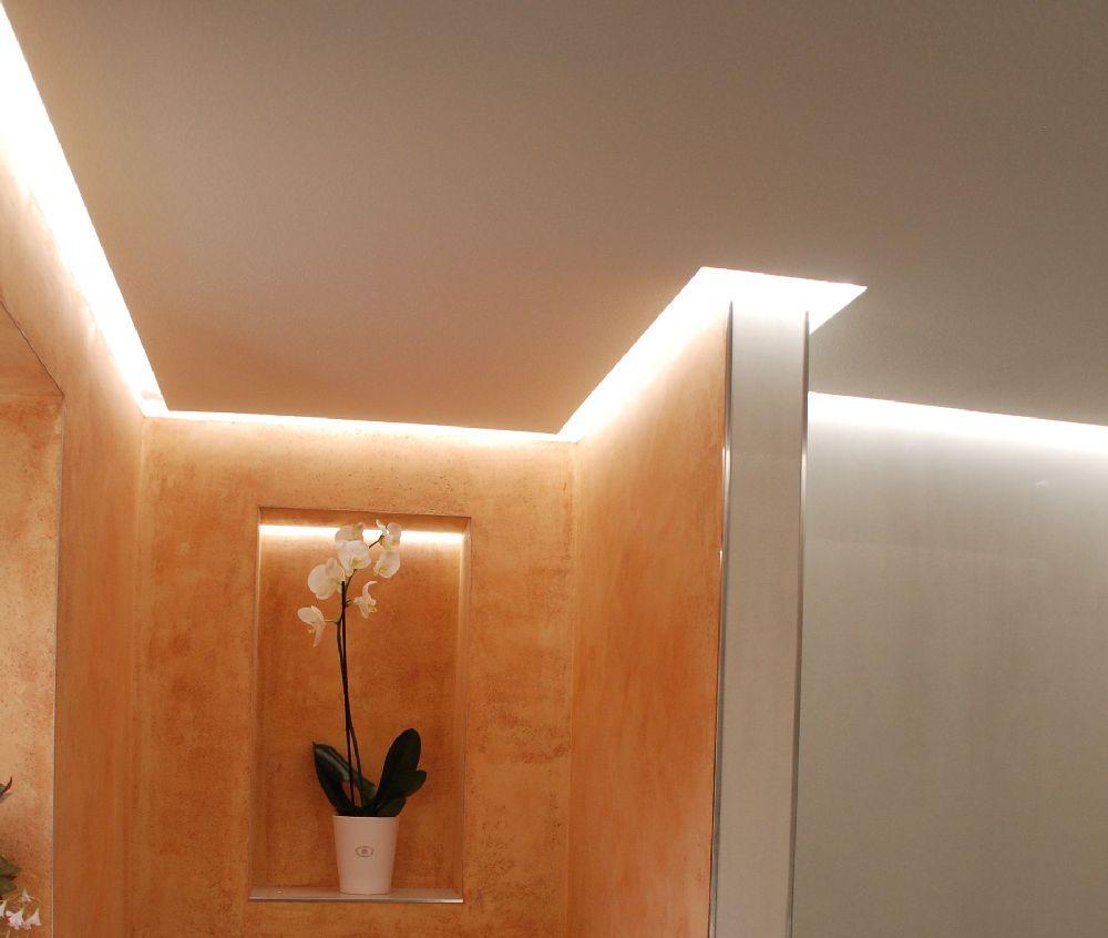Lichtkonzept Bad schöne led lichtgestaltungen http malerische wohnideen de led