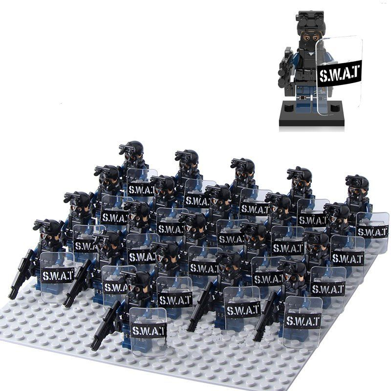 LEGO Guns Type 91 Assault Rifle Lot of 15 Army Modern SWAT Military Weapon Pack