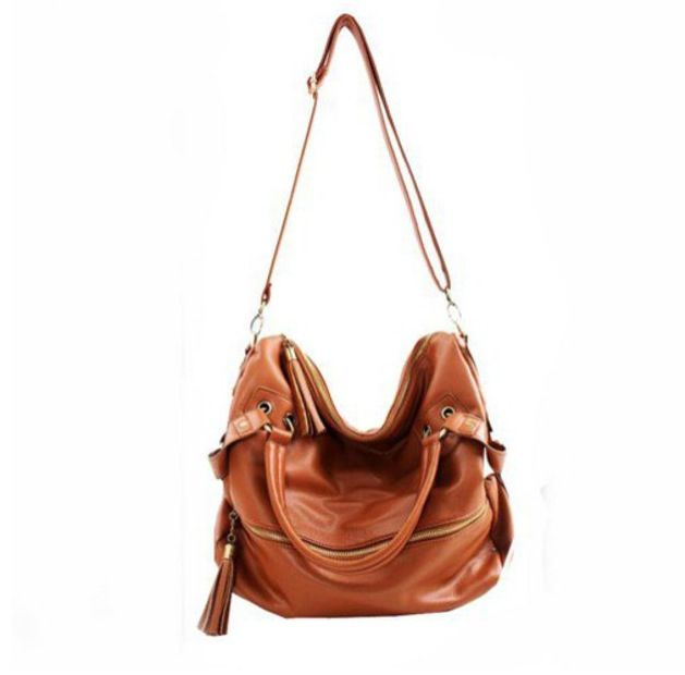 Leather Side Bag So Cute