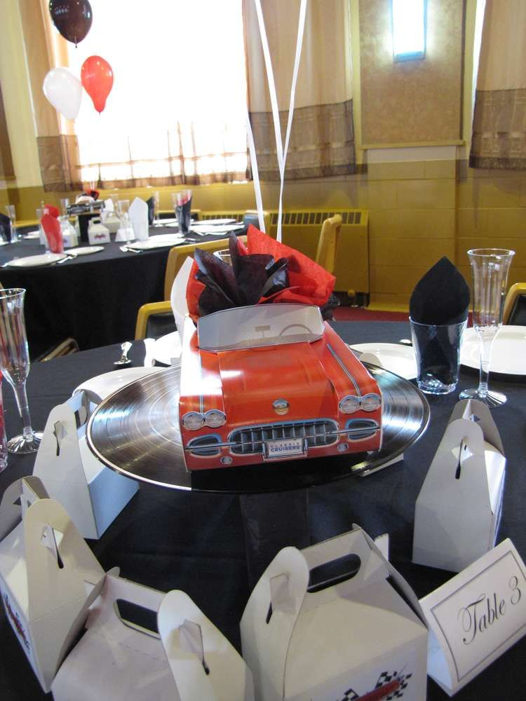 Classic Cars Birthday Party Ideas | Photo 19 of 75