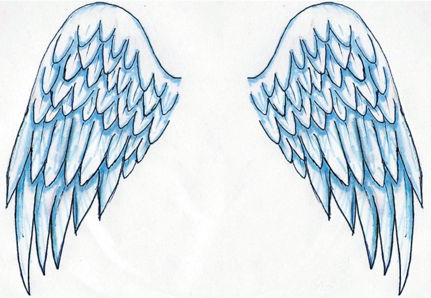 Angel Wings Tattoos I Like Pinterest ngeles Tatuajes De Alas