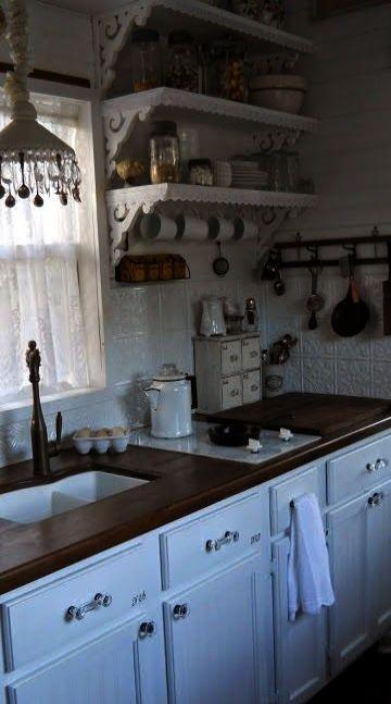 Design interior dapur shabby chic glamorous home decor also rh in pinterest