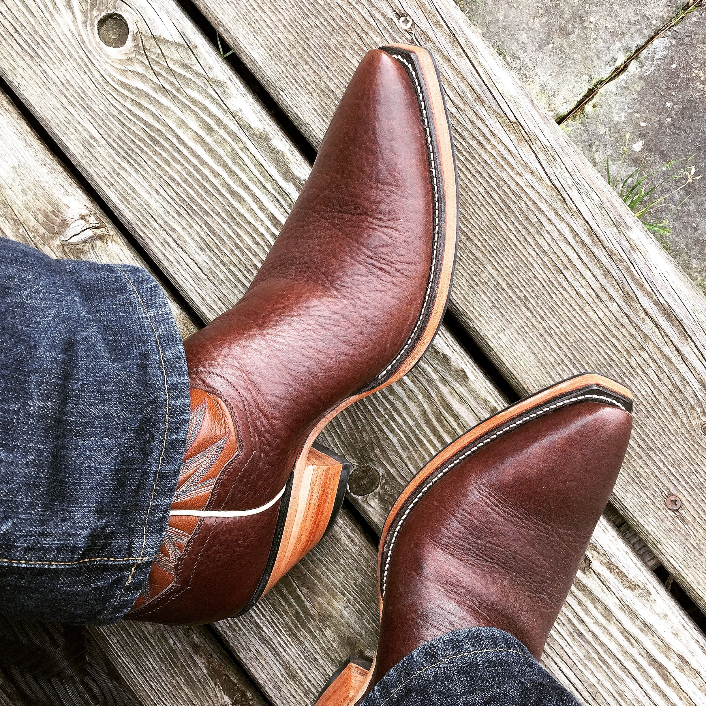 7106 Cuervo Natur Antic Jacinto-Piton Natural | Sendra mens brown