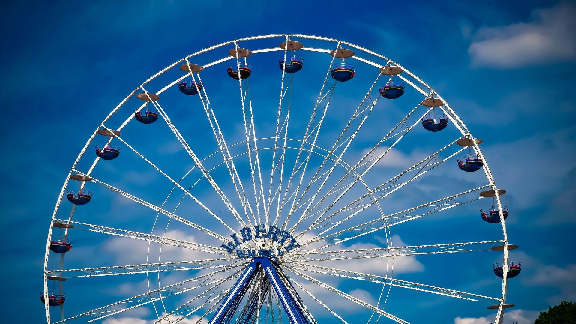 Awesome Ferris Wheel Ferris Wheel Background Images Wallpaper Backgrounds Hd wallpaper autumn ferris wheel park